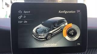 Download W176 A Klasse 7G-DCT manuelles schalten freischalten/ manual shift unlock Video