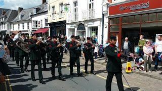Download The Band of the Brigade of Gurkhas - Annual Gurkha Freedom of Brecon Parade Video