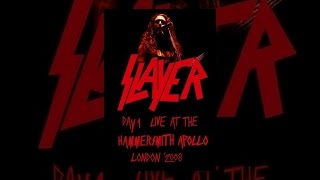 Download Slayer - Live at the Hammersmith Apollo, London Video