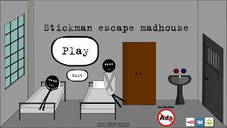 Download Stickman escape madhouse (by Starodymov) / Android Gameplay HD Video