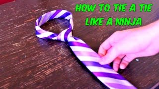 Download How to Tie a Tie Like a Ninja Video