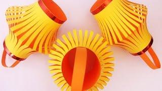 Download How To Make A Colorful Diwali Lantern | DIY Diwali Lantern - Craft Basket. Video