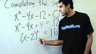 Download Algebra - Completing the square Video
