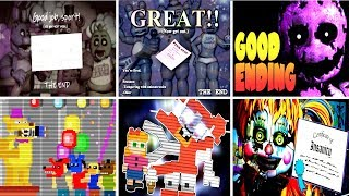 Download Five Nights at Freddy's 6 All Endings FNAF 1 2 3 4 5 Video