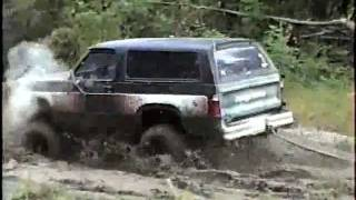 Download 4x4 Dodge Ram Charger & Jeep CJ7 w/ Chevy 350 Engine Mud Bogging Video