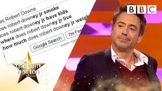 Download Robert Downey Jr. loves Google | The Graham Norton Show - BBC Video