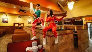 Download SPENDING THE NIGHT IN A RESTAURANT! Video