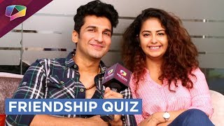 Download Avika Gor And Manish Raisinghan Take Up The Friendship Quiz | EXCLUSIVE Video