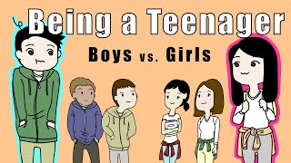 Download Puberty - Boys vs. Girls (Animated skit) Video