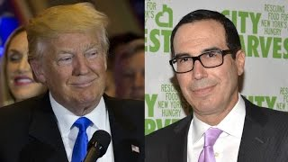 Download Trump Wants Goldman Sachs For Treasury Secretary Video