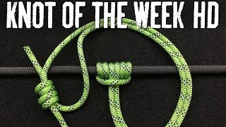 Download How to Ascend a Rope Easily With the Prusik Knot - ITS Knot of the Week HD Video