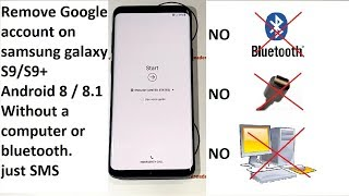 Download REMOVE GOOGLE ACCOUNT ON SAMSUNG GALAXY S9 / S9 PLUS ON ANDROID 8 TO 8.1 Without a computer Video