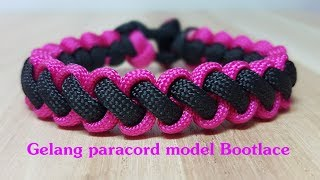Download Cara membuat gelang dari tali - Gelang Paracord model Bootlace Video