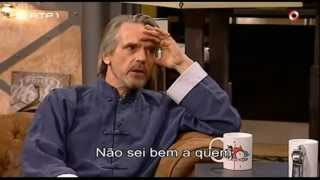 Download Jeremy Irons talks about Eurocrisis - Do anyone understand to who we owe so much money? (legendado) Video