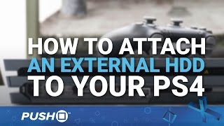 Download How to Attach an External HDD (Hard Drive) on PS4 | Firmware Update 4.50 | PlayStation 4 Guides Video