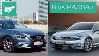 Download 2017 Mazda 6 Wagon vs 2017 Volkswagen Passat Wagon Comparison Review Video