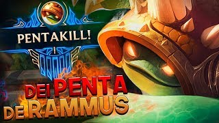 Download O DIA EM QUE DEI PENTA KILL DE RAMMUS! - RAMMUS JUNGLE GAMEPLAY - RodiL Video