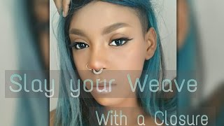 Download HOW TO: SLAY YOUR WEAVE WITH A SHAVED HEAD AND CLOSURE Video