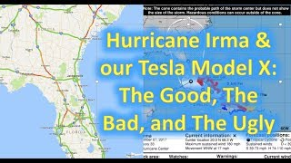 Download Hurricane Irma & our Tesla Model X: A Sensible Getaway Vehicle? Video