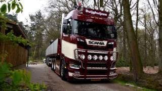 Download Van Duijghuijzen New SCANIA S730 + V8 Sound Video