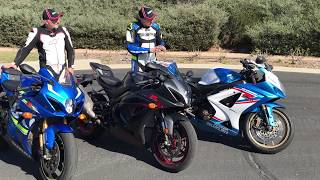 Download Worth upgrading? 2018 Suzuki GSX-R1000R vs. 2018 Suzuki GSX-R1000 vs. 2007 Suzuki GSX-R1000 Video