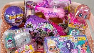 Download Unicorn Surprise Toy Eggs Basket Little Live Pets Shopkins Toys for Girls Kinder Playtime Video