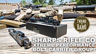 Download Sharps Rifle Co XPB! Diamond Like Carbon BCG Video