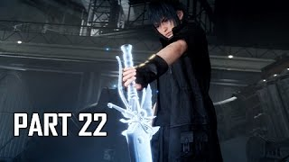 Download Final Fantasy 15 Walkthrough Part 22 - Kingsglaive (FFXV PS4 Pro Let's Play Commentary) Video