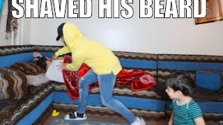Download I SHAVED HIS BEARD INFRONT OF HIS SON!!! Video
