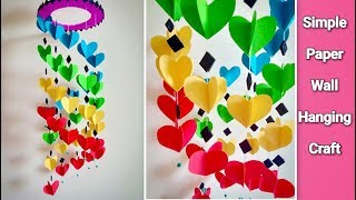 Download Attractive Wall Hanging Craft at Home | DIY | Paper Craft Ideas Video