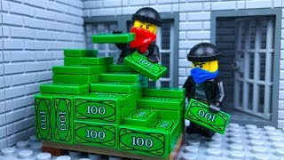 Download Lego Bank Robbery 🔴 Stop Motion Animation Video