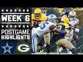Download Cowboys vs. Packers | NFL Week 6 Game Highlights Video