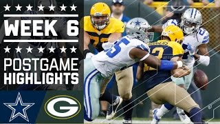 Download Cowboys vs. Packers | NFL Week 6 Game Highlights Video