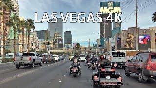 Download Driving Downtown - Las Vegas 4K - USA Video