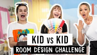 Download Kid vs Kid Design Challenge ft. Alisha Marie, Drew Scott, and Amina Mucciolo | Mr. Kate Video