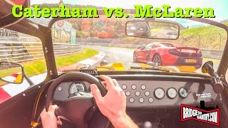 Download Caterham 485S & McLaren 650S on the Nürburgring Nordschleife Video