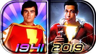 Download EVOLUTION of SHAZAM / Captain Marvel in Movies Cartoons TV (1941-2019) SHAZAM! full movie scene 2019 Video