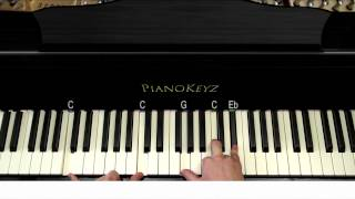 Download How to Play Titanium (Christina Grimmie Version) on Piano Video