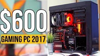 Download Build a $600 RYZEN 5 Gaming PC! - PC Build Guide 2017 (ft. Ryzen 1400) Video