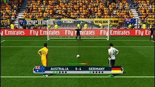 Download AUSTRALIA vs GERMANY   Penalty Shootout   Confederations Cup   PES 2017 Gameplay Video