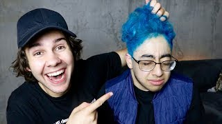 Download DYING HIS HAIR BECAUSE HE LOST A BET!! (SURPRISE) Video