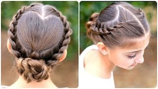 Download Rope Twisted Heart   Cute Girls Hairstyles Video