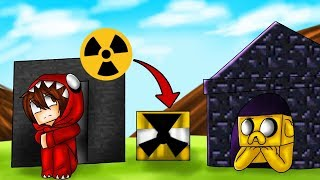 Download RETO DE LA BASE DE OBSIDIANA VS BASE DE BEDROCK 😱☢️ ¿RESISTIRÁN LA BOMBA NUCLEAR? Video