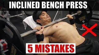 Download INCLINED BENCH PRESS (अपर चेस्ट का साइज बढ़ायें) STOP MISTAKES NOW! Video