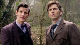 Download Eleventh Doctor Meets The Tenth Doctor | Doctor Who | The Day of the Doctor | BBC Video
