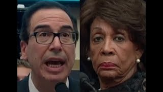 Download Maxine Waters' HEATED EXCHANGE with Trump Lackey Steven Mnuchin Video