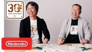 Download Super Mario Bros. 30th Anniversary Special Interview Video