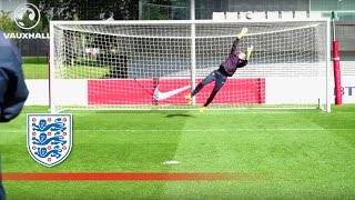 Download England Women's goalkeepers in good form | Inside Training Video