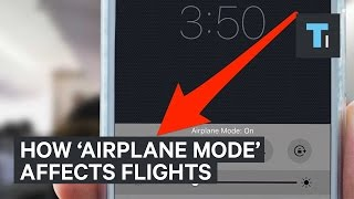 Download How 'Airplane Mode' Affects Flights Video