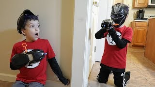 Download Twin vs Twin   Nerf War: Black Panther Video